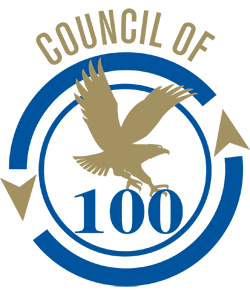 council of 100 logo