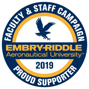 Faculty and Staff Campaign donor decal 2019