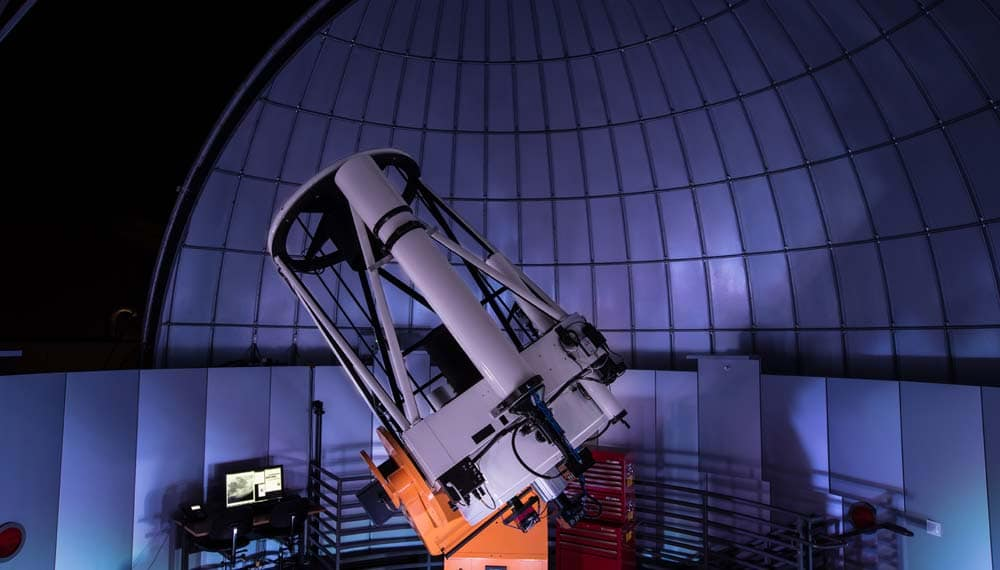 Ritchey-Chretien Reflecting Telescope at Embry-Riddle Aeronautical University in Daytona Beach.