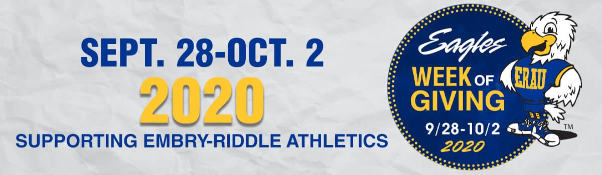 Athletics Week of Giving - Sept. 28 to Oct. 2