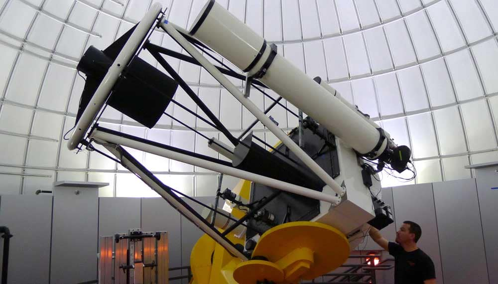 Ritchey-Chrétien reflecting telescope at the Daytona Beach campus.